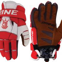 "Brine King 4 10"" Lacrosse Gloves"