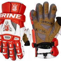 Brine King 4 Goalie Lacrosse Gloves